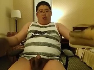 Amateur,Masturbation,Solo,Asian,Fat,gay Asian chunk loves his smelly shoes