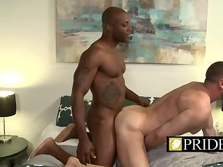 Anal,Big Cock,Bareback,gay,close-up,stud,balls deep Ebony stallion wants to creampie that ass badly