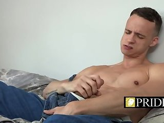 Anal,Big Cock,Bareback,gay,close-up,stud,balls deep Gay piston sliding into that ass nicely