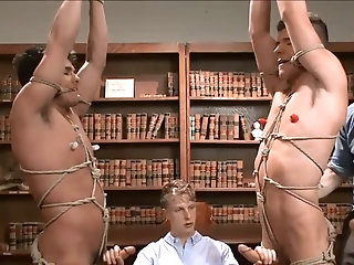 Anal,Bondage,Domination,bdsm,gay bdsm - School Punks Take A Double Edging torture.