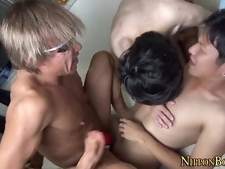 anal,cumshot,threesome,anal sex,cumshots,asian sex,asians, 3some,gay Asian twink jizzed bang
