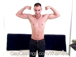 Amateur (Gay);Big Cocks (Gay);Blowjobs (Gay);HD Gays;Gay Castings;Casting Agent HD - GayCastings Tyson gets a cum shower from casting agent