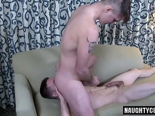 Anal,Tattoo,gay,big dick,extreme Big dick gay flip flop and cumshot