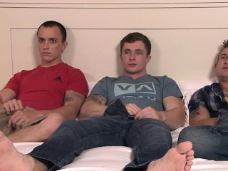 Blowjob (Gay),Gays (Gay),Group Sex (Gay),Masturbation (Gay),Twinks (Gay) Tattoo gay flip flop with cumshot