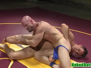 Domination,Fetish,Blowjob,gay Wrestling hunk asstoyed after dicksucking