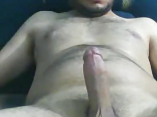 Men (Gay);Masturbation (Gay);Muscle (Gay);Bears (Gay);Big Cocks (Gay) Hot dude wanking and cumming