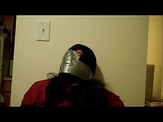 Men (Gay);Struggling;Punished sissystephanie struggling and punished with breathplay