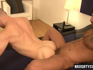 Fetish,Fisting,Tattoo,gay,ass,big dick,muscled Big dick gay fisting and cumshot