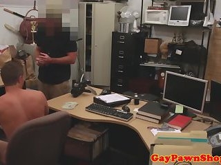 masturbation,voyeur,blowjob,oral,wanking,brunette,voyeurs,money,gay Baited pawnshop customer sucks cock