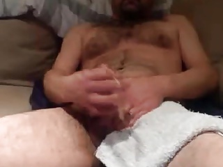 Men (Gay);Bears (Gay);Big Cocks (Gay);Daddies (Gay);Masturbation (Gay);Hard Hunk hairy daddy shooting hard