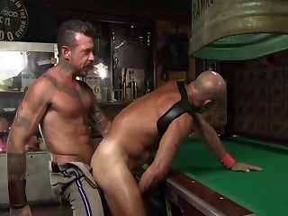 Anal,gay,ass,hardcore,leather,muscled older raw