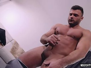 Solo,Body Builders,Hunks,gay,big dick,muscled Big dick gay blowjob with facial