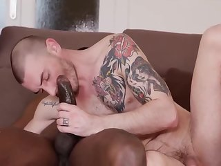 Anal,Big Cock,Ebony,Hunks,Interracial,bbc,gay Big black cock in white hung ass