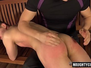Masturbation,Domination,Fetish,Handjob,gay,spanking,latin Hot gay spanking and cumshot