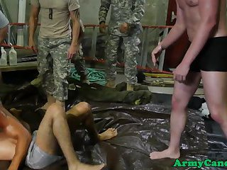anal,interracial,threesome,anal sex,black,muscled,interracial sex, 3some,gay Army studs groupfuck after wrestling training