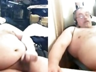 Amateur (Gay);Masturbation (Gay);Daddies (Gay) grandpa stroke