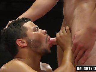 Anal,Domination,gay,facial,big dick,wrestling,hung Big dick gay oral sex and facial