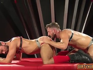 Anal,Domination,Hunks,gay,ass,bear,fuck,muscle Muscle bear domination with cumshot