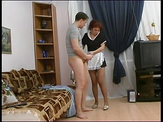 Matures;MILFs;Old+Young;Russian Gay and maid