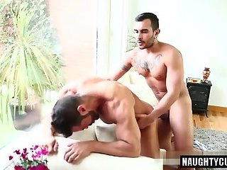 Anal,Hunks,gay,fingering,oral sex,latin,muscled Latin gay anal sex with cumshot