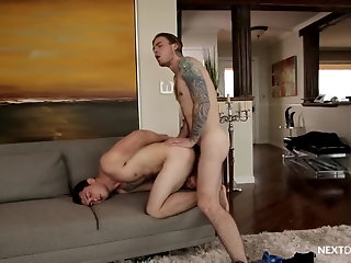 Anal,Tattoo,Bareback,gay,fuck,studs My Boyfriend's Brother