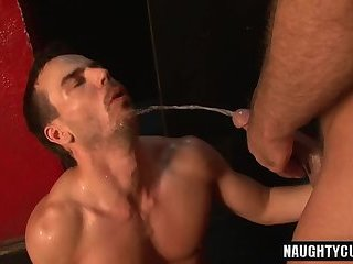 Anal,gay,ass,bear,fuck,big dick,muscled Big dick gay piss and cumshot