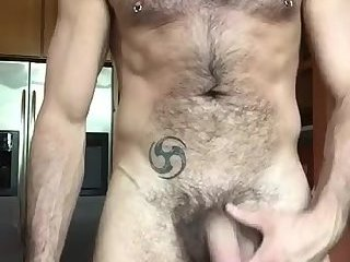 Amateur,Masturbation,Solo,hairy,gay Cute hairy guy makes a quick promo vid