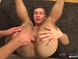 gay,hairy,gaping Hairy gay gaping and cumshot