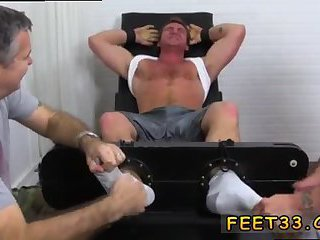 feet,fetish,threesome,foot fetish,brunette,tickle,fetish sex, 3some,gay Connor Maguire Tickled Naked