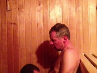 daddy;son;boy;dad;public;sauna;big-dick;huge-cock;facial;stud;muscle-stud;blowjob;sucking;mature;young;grandpa,Daddy;Gay;Public;Verified Amateurs Daddy Son Cock Suck in the Sauna