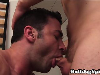 anal,hunks,gays,kissing,hunk,brunette,cute,gay Dominant hunk sucks subs cock then fucks him