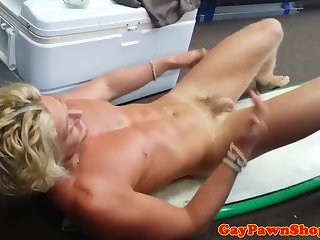anal,amateur,voyeur,anal sex,blonde,voyeurs,pov sex,money,gay Pawnshop surfer cockriding for quick cash