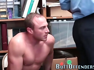 Amateur,Body Builders,Domination,Fetish,Interracial,Blowjob,Bareback,gay Muscly shoplifter fucked