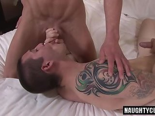 Anal,gay,muscled, bedroom Hot gay anal sex and cumshot