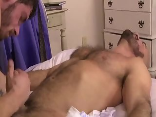 Anal,Cumshot,Mature,Rimming,fuck,hairy,muscled,gay Two men Having fun