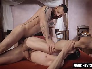 Anal,Domination,Hunks,gay,studs,hung Tattoo gay domination with cumshot