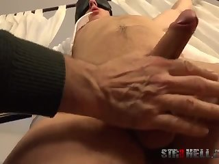 Domination,Fetish,Handjob,bdsm,studs,gay Erik fastened And Milked