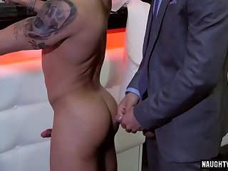 Anal,Hunks,Latinos,Tattoo,gay,latin,muscled Latin gay anal sex with cumshot