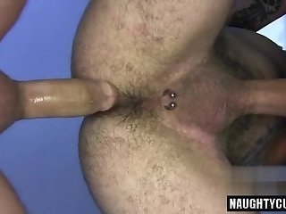 Anal,gay,group sex,fuck,big dick,hairy Tattoo gay anal with cumshot