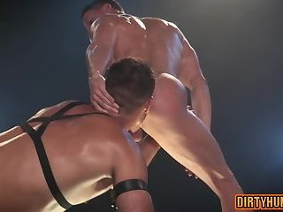 Anal,Hunks,gay,muscle Muscle gay anal with anal cumshot